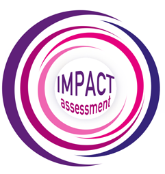 Impact assessment logo conference